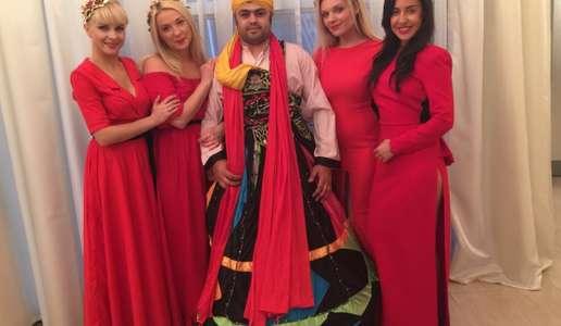 Kundenevent in Baku für Inpas/TRSYS