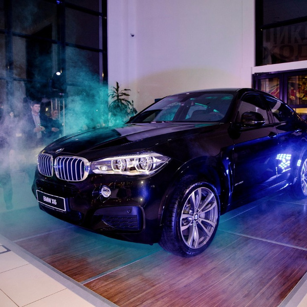 Organization of presentation of the new BMW X 6-0 Photos