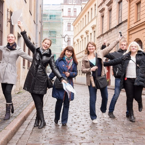 Photo 10-2016-Visiting team building in Riga for the X 5 Retail Group | Big Jack