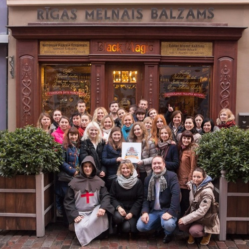 Photo 16-2016-Visiting team building in Riga for the X 5 Retail Group | Big Jack