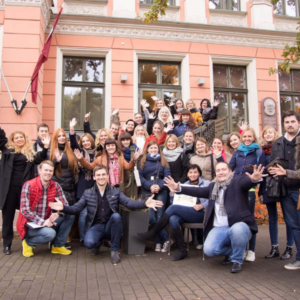 The visiting team building in Riga for the X 5 Retail Group-Photo 0